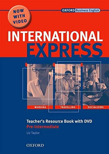 9780194597418: International Express, Interactive Editions: Pre-Intermediate: Teacher's Resource Book with DVD