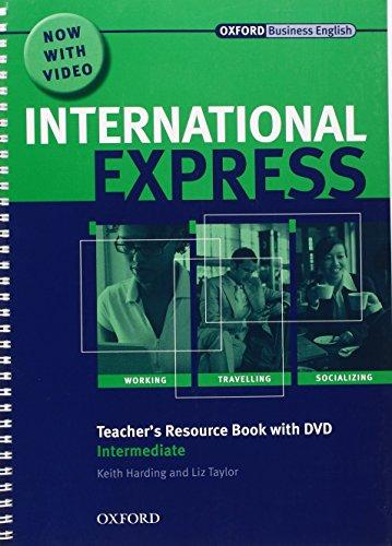 9780194597425: International Express: Intermediate Teacher Resource Book with DVD