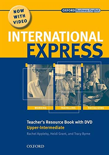 9780194597432: International Express Upper-Intermediate: Teacher's Resource Book and DVD Pack 2nd Edition (International Express Second Edition)