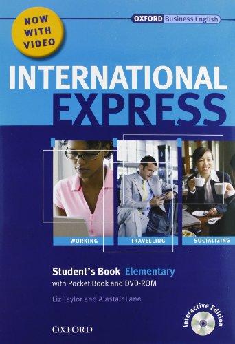 9780194597449: International express. Elementary. Student's book-Workbook. Con CD Audio. Con DVD. Per le Scuole superiori