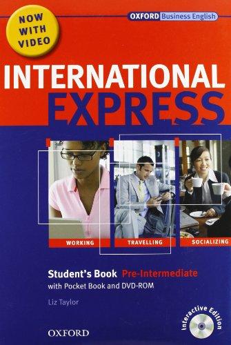 9780194597456: International express. Pre-intermediate. Student's Book-Workbook. Per le Scuole superiori. Con CD Audio. Con DVD-ROM