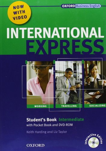 9780194597463: International express. Intermediate. Student's Book-Workbook. Per le Scuole superiori. Con CD Audio. Con DVD-ROM