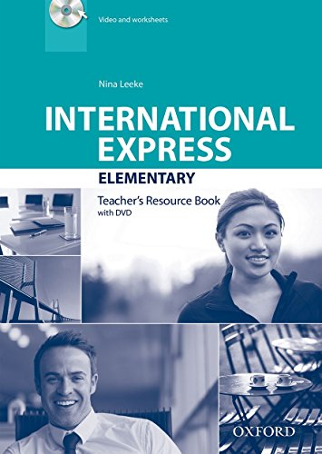 9780194597708: International Express: Elementary: Teacher's Resource Book with DVD