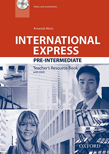 9780194597715: International Express: Pre-Intermediate: Teacher's Resource Book with DVD