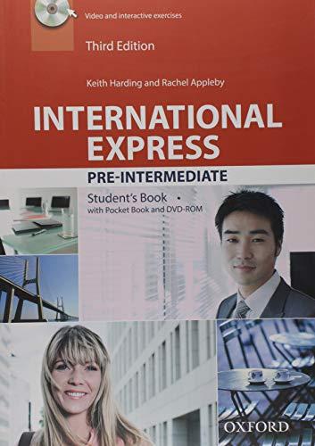 9780194597852: International Express Pre-intermediate : Student's Book Pack (1DVD)