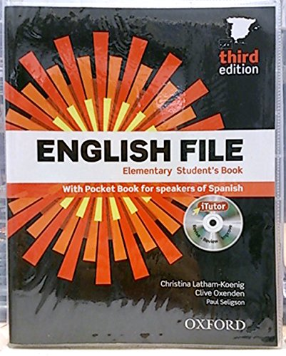 9780194598446: English File. Elementary student's Book no CD