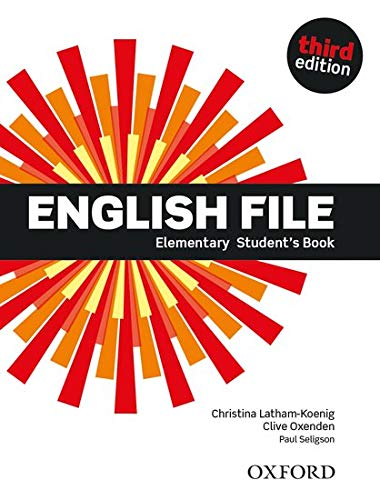 9780194598569: English File Third Edition Elementary Student Book (Uk)