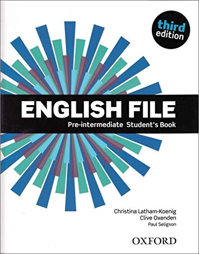 9780194598576: English File Third Edition Pre Intermediate Student Book (Uk)