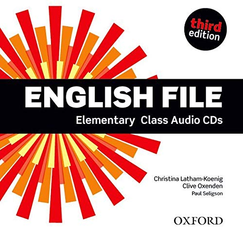 9780194598583: English File third edition: Elementary: Class Audio CDs