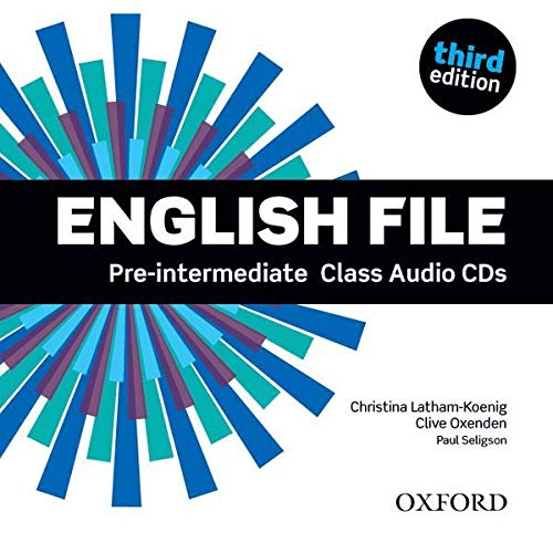 9780194598590: English File third edition: Pre-intermediate: Class Audio CDs