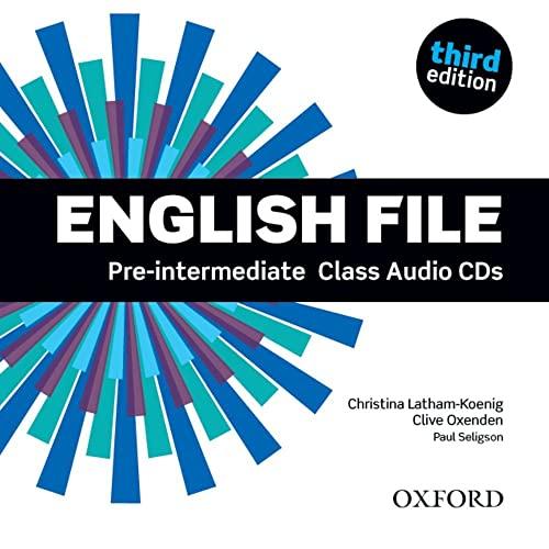 clive oxenden - english file pre intermediate class audio