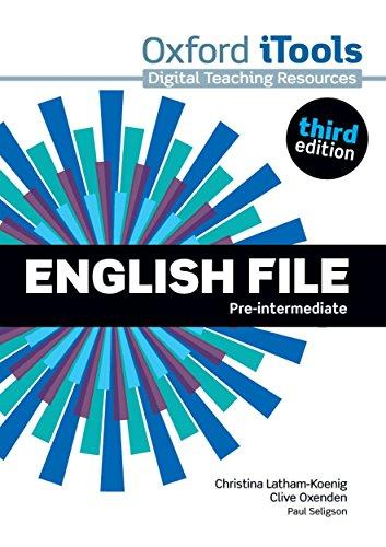 9780194598613: English File third edition: Pre-intermediate: iTools
