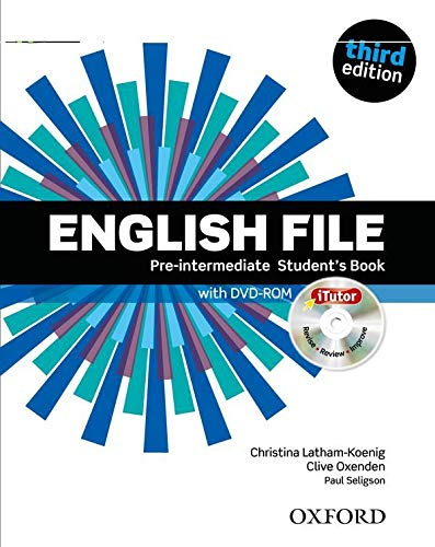 9780194598651: English File third edition: English file pint sb & itutor Pack 3ed