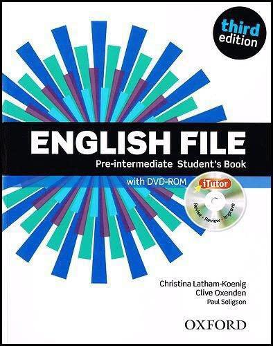 9780194598651: English File third edition: English file pint sb & itutor Pack 3ed