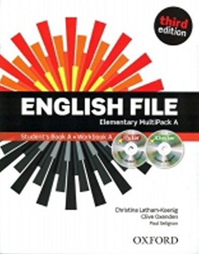 9780194598668: English File third edition: English file digital. Elementary. Part A. Student's book-Workbook-iTutor-iChecker. With keys. Per le Scuole superiori. Con espansione online