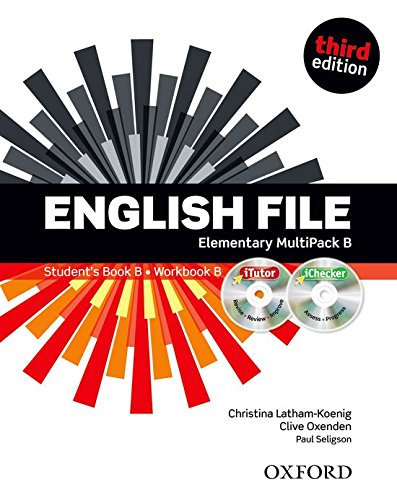 9780194598675: English File third edition: English file digital. Elementary. Part B. Student's book-Workbook-iTutor-iChecker. With keys. Con espansione online. Per le Scuole superiori