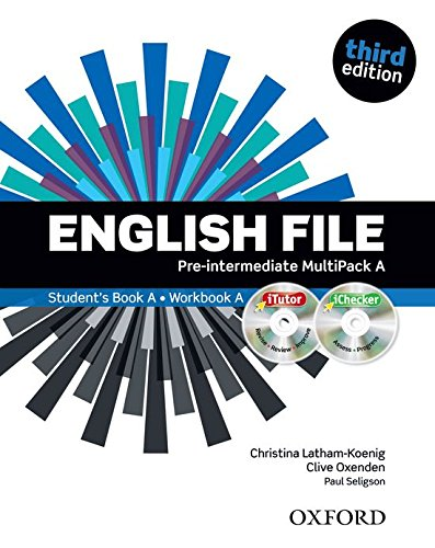 9780194598682: English File Third Edition: Pre-Intermediate Multipack A SB+WB Lessons 1-6