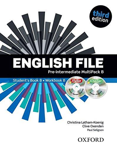 9780194598699: English File third edition: English file digital. Pre-intermediate. Part B. Student's book-Workbook. With keys. Con espansione online. Per le Scuole superiori