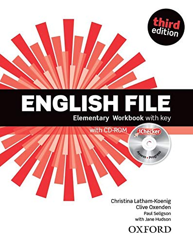 9780194598712: English File third edition: English File 3rd Edition Elementary. Workbook with Key and iChecker