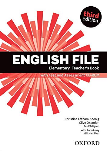 9780194598743: English File third edition: English File Elementary: Teacher's Book &test CD Pack 3rd Edition
