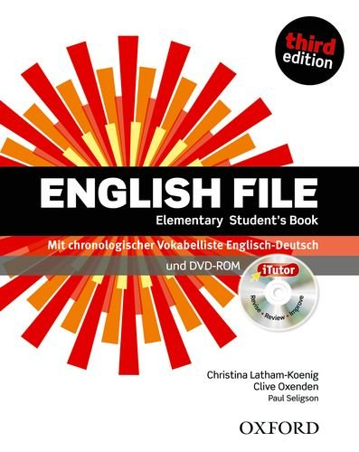 9780194598781: English File. Elementary Student's Book & iTutor Pack (DE/AT/CH)