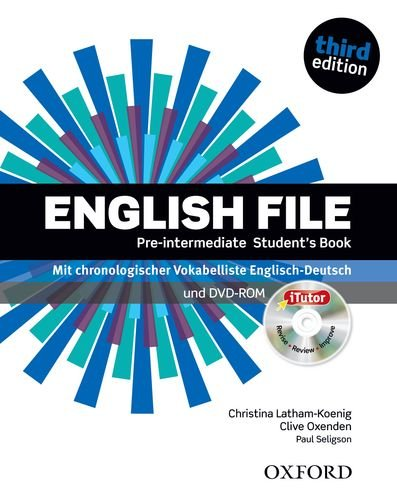 9780194598798: English File. Pre Intermediate Student's Book & iTutor Pack (DE/AT/CH)