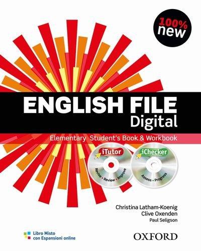 9780194598873: Eng File 3e Elem Sb Wb Wo Key Pk It