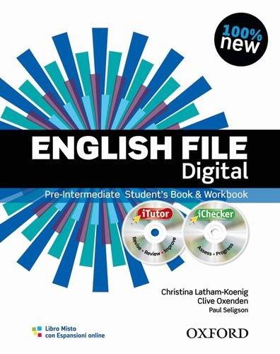 9780194598897: English file digital. Pre-intermediate. Student's book-Workbook. Without keys. Con espansione online. Per le Scuole superiori