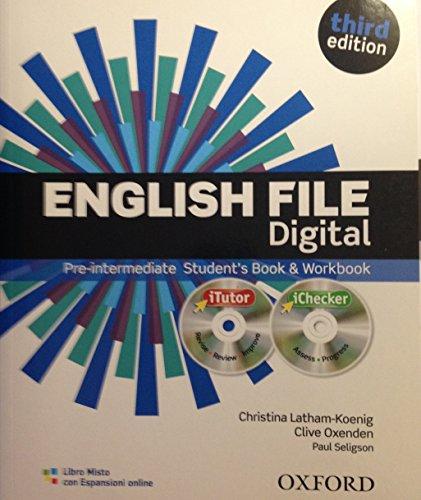 9780194599207: ENGLISH FILE PRE INTERM. DIGITAL CON ESP ON LINE