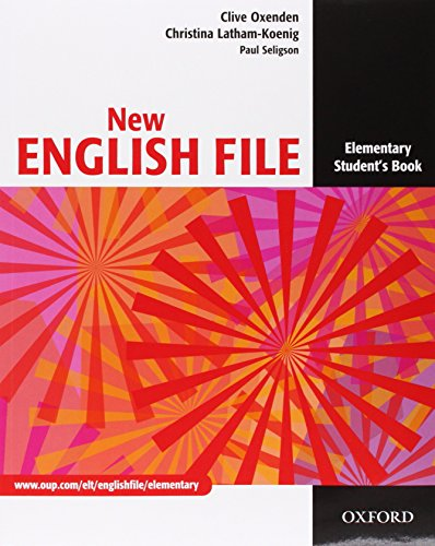 9780194599665: New english file. Elementary. Student's book-Workbook-My digital book-Key. Per le Scuole superiori. Con CD-ROM. Con espansione online