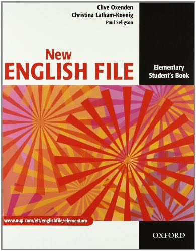 9780194599672: New english file. Elementary. Student's book-Workbook-My digital book. Con espansione online. Per le Scuole superiori. Con CD-ROM