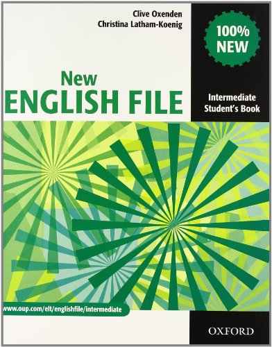 9780194599702: New english file. Intermediate. Student's book-Workbook-Key-Entry checker-My digital book. Con espansione online. Per le Scuole superiori. Con CD-ROM