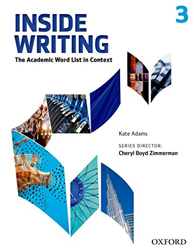 9780194601368: Inside Writing 3. Student's Book (Inside Reading Second Edition)
