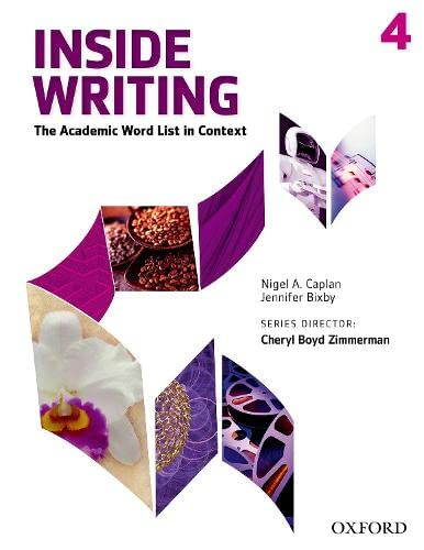 9780194601467: Inside Writing Level 4 Student Book
