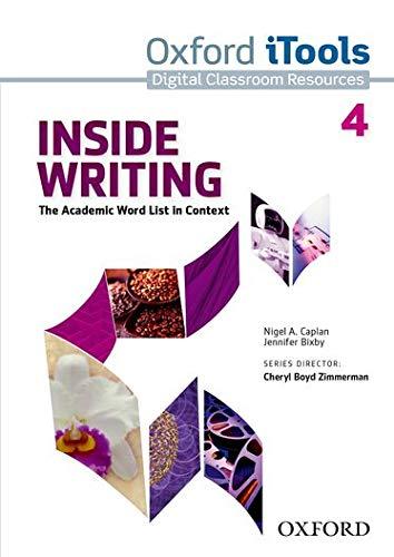 Inside Writing: Level 4: iTools