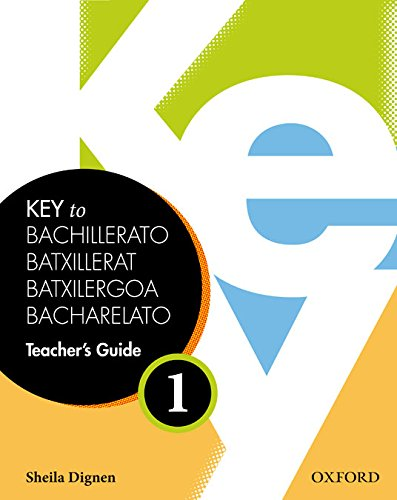 9780194601566: Key 1, Teacher's Book + Teacher's Resource CD Rom Pack (Key to Bachillerato) - 9780194601566