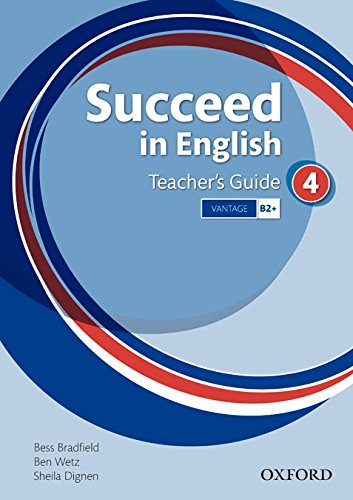 9780194601610: Succeed in English 4. Teacher's Book, Teacher's Resource, CD-ROM Pack