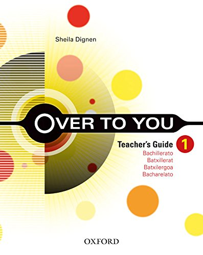 9780194601627: Over To You 1 Teacher's Book+Tr Cd-R Pack (Over Tou You) - 9780194601627