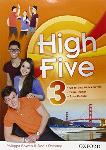 9780194603935: High five. Student's book-Workbook-Exam trainer. Per la Scuola media. Con CD Audio. Con e-book. Con espansione online: 3