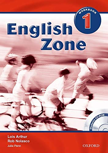 9780194618069: English Zone 1: Workbook with CD-ROM Pack