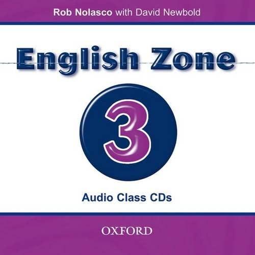 9780194618182: English Zone 3: Class Audio CDs (2)