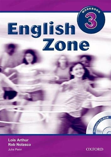 9780194618199: English Zone 3: Workbook with CD-ROM Pack