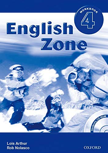 9780194618250: English Zone 4: Workbook with CD-ROM Pack