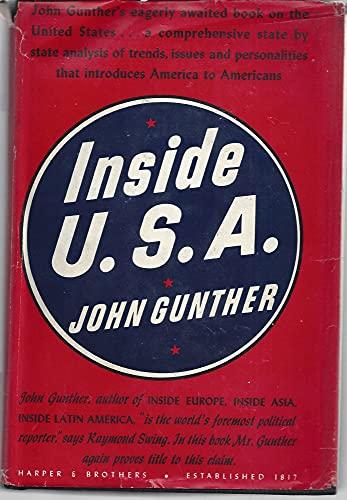 Inside U.S. a: john gunther