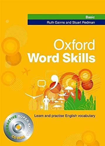 9780194620031: Oxford word skills. Basic. Per le Scuole superiori. Con CD-ROM
