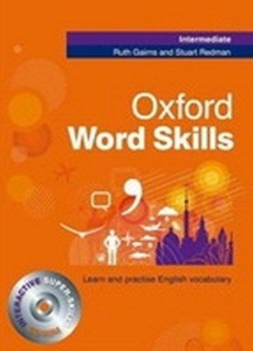 9780194620079: Oxford word skills. Intermediate. Per le Scuole superiori. Con CD-ROM