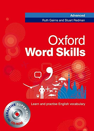 9780194620116: Oxford Word Skills Advanced: Student's Pack (Book and CD-ROM)