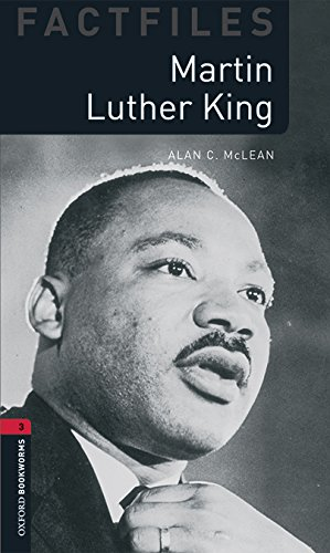 9780194621038: Oxford Bookworms Library Factfiles: Level 3:: Martin Luther King audio pack