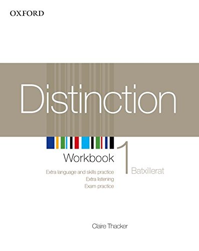 9780194624039: Distinction 1 wb catala ed