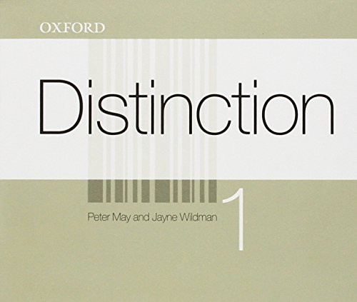 9780194624077: (AUDIO CD).DISTINCTION 1 (CLASS CD)